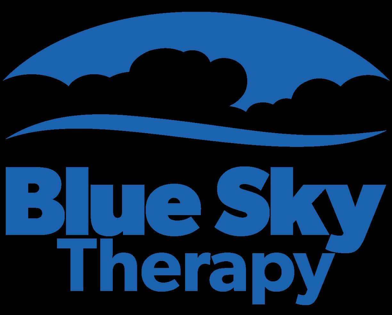 Blue Sky Therapy Logo | Champion, Ohio
