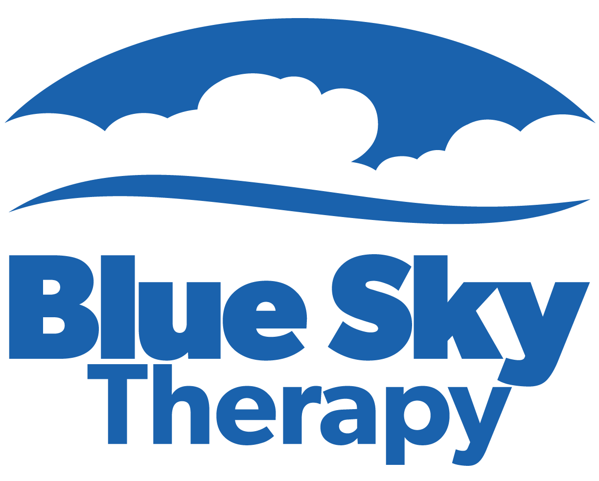 Blue Sky Therapy Logo | Champion, Ohio