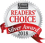 Reader's Choice Silver Award